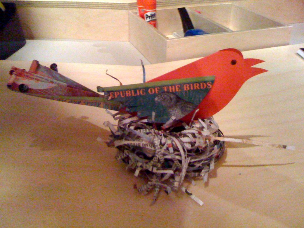 Shelmerdine, my GoMA bird