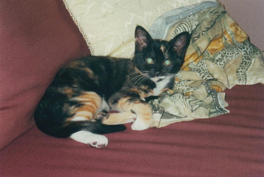 Kendra as a teen