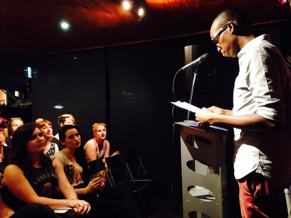 Khalid Warsame at Brisbane's VOICEWORKS Launch