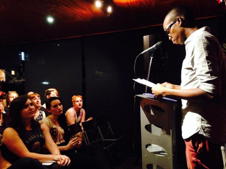 Khalid Warsame at Brisbane's VOICEWORKS Launch