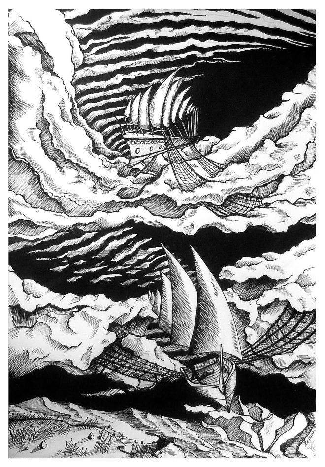 Sky Fishing by Bettina Marson